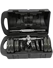 Premium Lacquer Coated Dumbbells Set 20KG, AL152