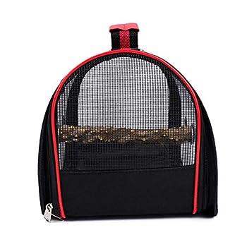 MOVKZACV Cage de transport pour oiseaux et petits animaux de compagnie - Transparente et respirante