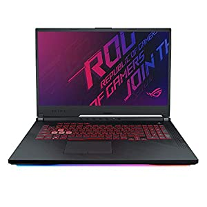 ASUS ROG Strix G731GT (90NR0223-M02060) 43,9 cm (17,3 Zoll, Full HD, vIPS, matt) Gaming-Notebook (Intel Core i5-9300H, 8GB RAM, 512GB SSD, NVIDIA GeForce GTX1650 (4GB), Windows 10) Black