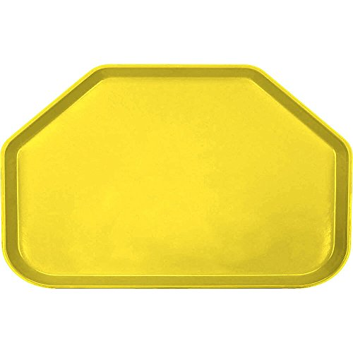 Camtray, Trapezoid, 14'' X 22'', Mustard, Nsf Special Order Item Not Carried In Stock; (12 Pieces/Unit)