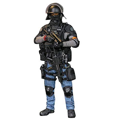 Figura de soldado de soldado, 1/6 soldado de la Policía Nacional Francesa