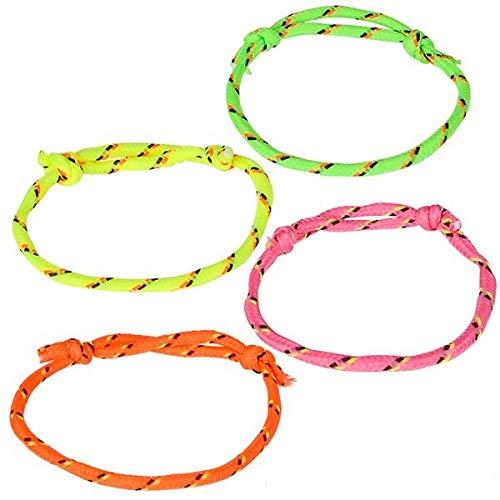 Rhode Island Novelty 2 Inch Friendship Bracelets, 144 Pieces per Order