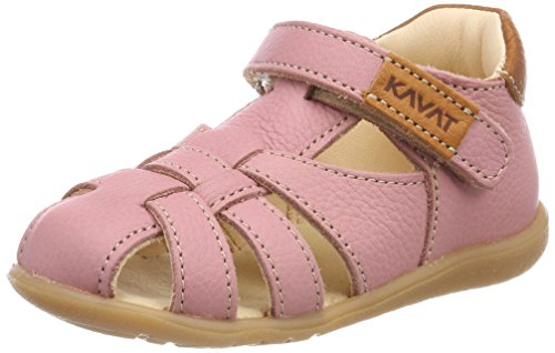 Kavat Baby Mädchen Rullsand Sandalen, Pink (Pink/979), 26 EU