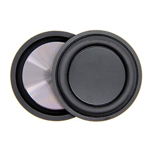 Xuniu Membrana de vibración Auxiliar de diafragma de Altavoz de radiador de Bajos de Baja frecuencia