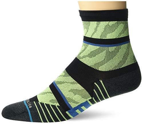 Stance Herren Crew Embrun Socken, Neon-Grün, Large