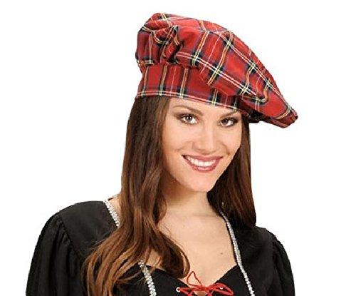 Mondial-Fete - Chapeau écossais Tissu