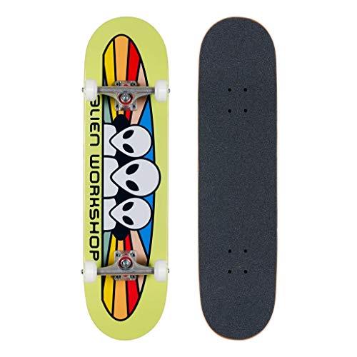 Alien Workshop - Skateboard completo Spectrum, 21 cm, assemblato