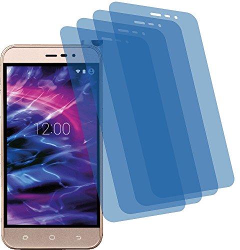 4ProTec I 4X Crystal Clear klar Schutzfolie für Medion Life P5006 Bildschirmschutzfolie Displayschutzfolie Schutzhülle Bildschirmschutz Bildschirmfolie Folie
