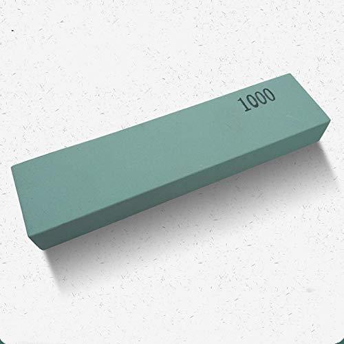 HJJDMAfilador de Piedra de afilar de carburo de silicio Verde Piedra de afilar y pulir Piedra Piedra sin escorias Hierro Inferior Piedra de Pulido rápido Malla 1000