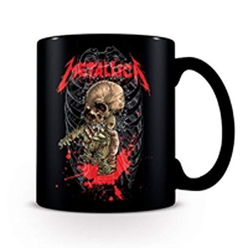 Générique Taza de Desayuno, diseño de Metallica Master of Puppets -