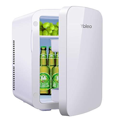 Yoleo Mini Réfrigérateur de Chambre 15L, Mini Réfrigérateur Frigo Silencieux,Refroidisseur et...