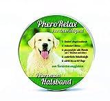 PheroRelax Pheromon Hundehalsband für Hunde - Anti-Angst Halsband - natürliches Beruhigungsmittel klein...