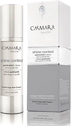 Casmara Shine Control Crema Hidratante Antiedad Matizante, 50 ml