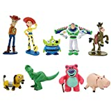 Yurnoet 9PCS The toy game story cupcake Topper cake toppers Decorative Supplies,6 pcs The toy game story cupcake topper The toy game story Party Birthday Party Gifts Great Party Cupcake Decorations