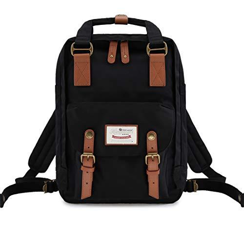 "Himawari School Functional Travel Waterproof Backpack Bag for Men & Women | 14.9""x11.1""x5.9"" | Holds 13-in Laptop (HIM-26#)"