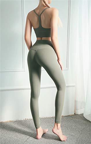 Aoccker Women's Fitness Leggings Naadloos Hoge Taille Yoga Broek Buik Controle Hardlopen Panty's Training Leggings