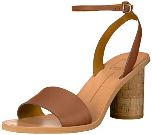 Dolce Vita Women's Jali Sandal, Brown Leather, 7 M US