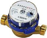 Caudalímetro de agua sanitaria de 3/4 de pulgada 4,0 m3 / h