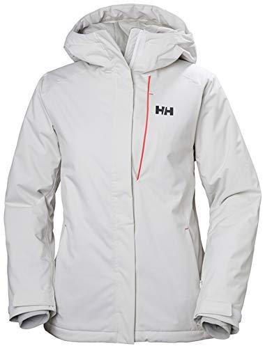 Helly Hansen Damen W Snowstar Jacke, White/Goji Berry, XL