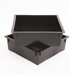 Worm Factory Additional Composting Bin Trays Black (Pack of 2)