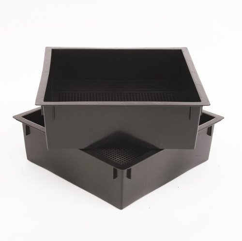Amazing Deal Worm Factory Additional Composting Bin Trays Black (Pack of 2)