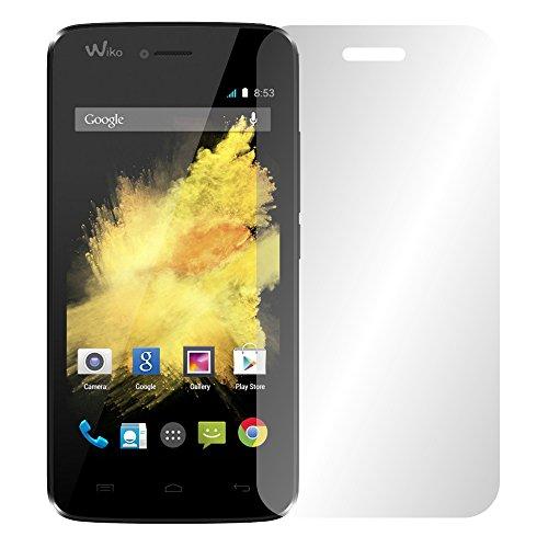 Slabo 2 x Bildschirmfolie für Wiko Birdy 4G Bildschirmschutzfolie Zubehör Crystal Clear KLAR