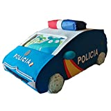 Tarta de pañales coche Policia