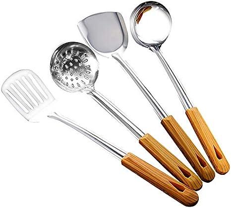Amazon Com Arinda Stainless Steel Long Handle Kitchen Utensil Soup Ladle Shovel Spatula Cooking Tools Kitchen Supplies Home Kitchen