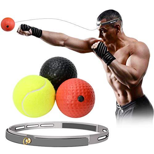 パンチングボール ボクシング ボール 反射神経 動体視力トレーニング 軽量 格闘技 練習用ボール ストレス発散 グッズ