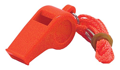 Shoreline Marine Basic Safety Whistle with Lanyard