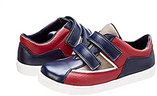 حذاء رياضي جلد صناعي ملون بشريط فيلكرو للاولاد من بلينو - متعدد الالوان، 30