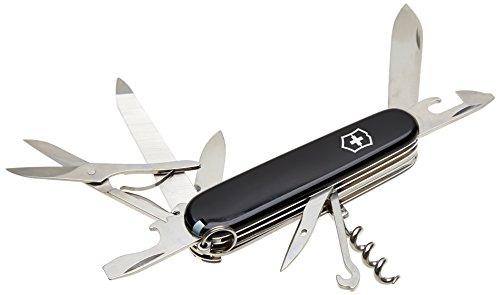 Victorinox Mountaineer Offiziermesser Taschenmesser, schwarz, One Size