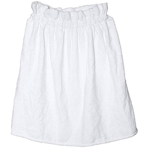 Best Comfort Ladies Terry Towel Wrap Women's Bath Adjustable Closure Spa Towels - White - One Size