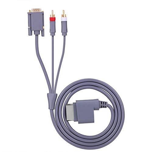 DAUERHAFT Diseño optimizado Cable VGA + 2 RCA Cable AV Compatible con...