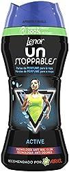 LENOR Unstoppable Active 210GR, Perlas de Perfume para la Ropa, Negro, Estándar (392-0221)