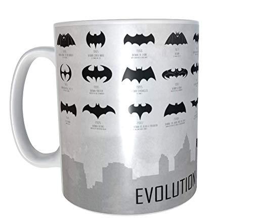 Los Eventos de la Tata. Tazas originales para regalo. Batman Evolution
