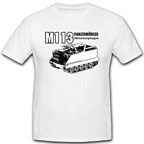 Tanque M113Mortero y mortero Lucha carro Bundeswehr delanteros Granaderos Panzer Batallón 6Compañía...