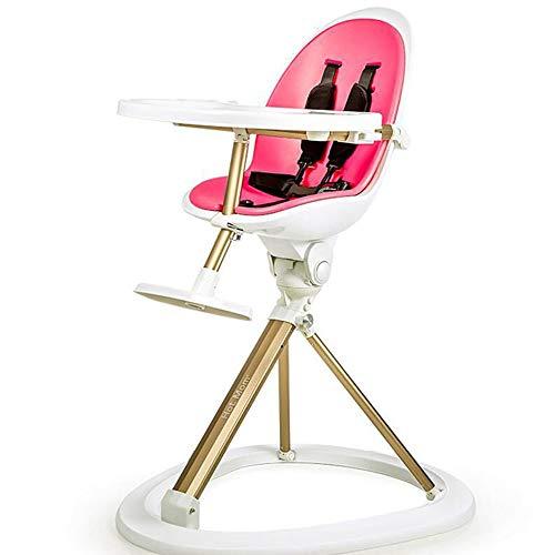 Masddhfx hoge stoelen multifunctionele draagbare klaptafel stoel baby, kleinkind tafel babydining stoel, C