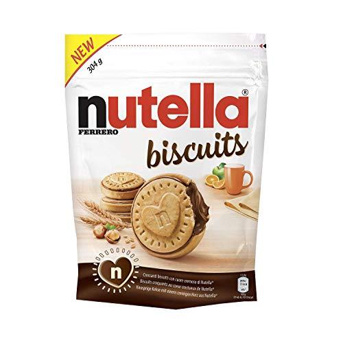 Nutella Biscuits , sachet de 304 gr - 22 biscuits - vendu par lot (4)