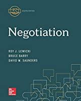Negotiation, 8th Edition Front Cover