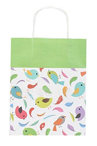 Lot de 10 sacs de fête Lovely papier cadeau de fête enfants, 26,9 cm