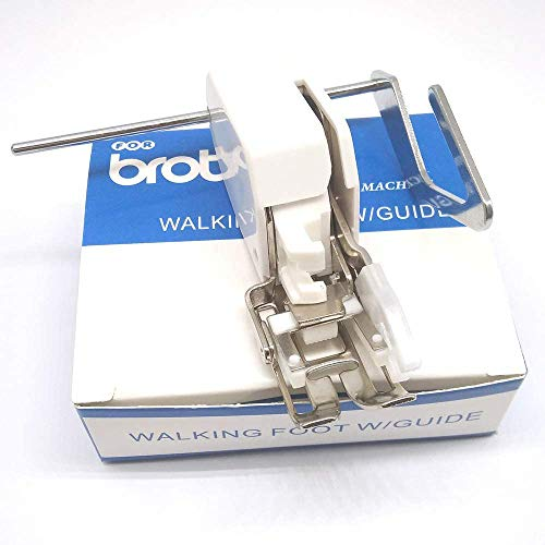 YICBOR Even Feed Walking Foot #SA140 Sewing Machine Presser Foot for Brother Sewing Machine