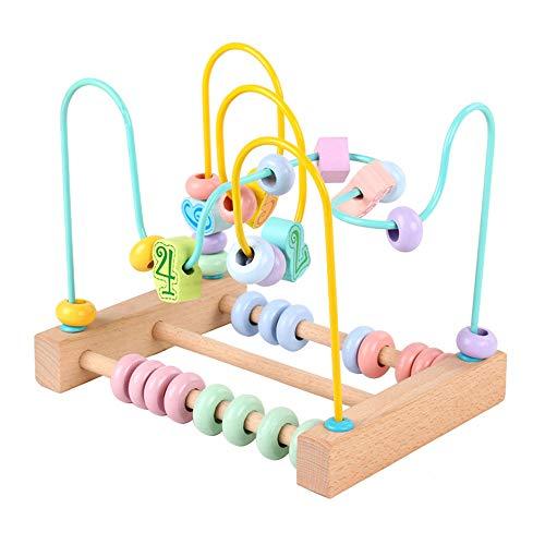 JOKFEICE Billes De Laçage Jouets de laçage à Filetage Primaire pour Tout-Petits Autisme Motricité Fine Montessori Toys Jouet éducatif précoce pour Enfants Garçons Filles