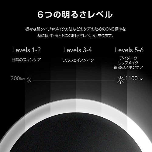 Xiaomi(シャオミ)AMIRO(アミロ)『AMIROHDディライトミラーOシリーズ(バッテリー内蔵式)(AML005)』