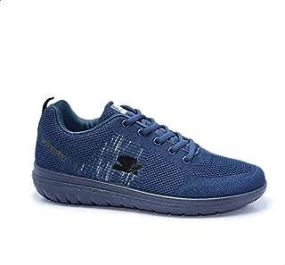 Starter Mesh Side Logo Lace-Up Pull Tab Walking Unisex Shoes 37
