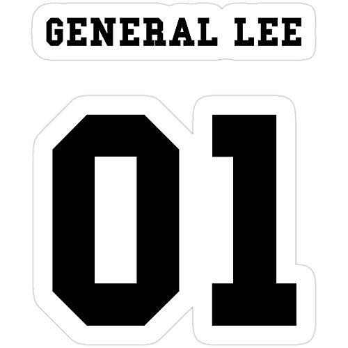 Big Lens store General Lee 01 Stickers (3 Pcs/Pack)