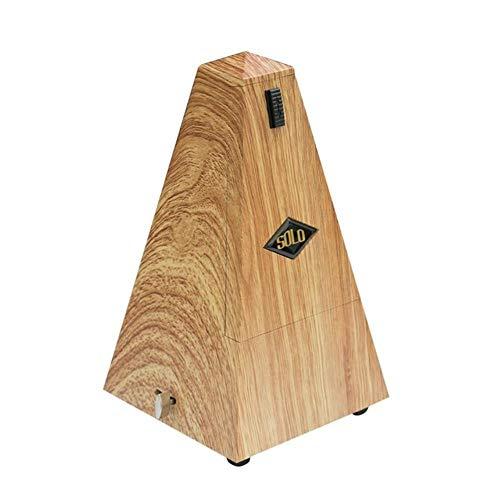 Piano Gitaar Viool Mechanische Metronoom Snaarinstrument Metronomen Universele Gitaar Bas Onderdelen # 13, licht houtkleur