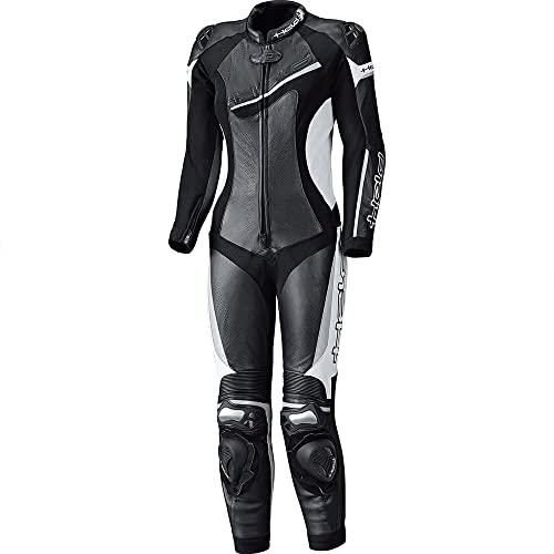 Held Lederkombi mit Protektoren Motorradkombi 1 Teiler Ayana II Damen Lederkombi 1-TLG. schwarz/weiß 38, Sportler, Ganzjährig