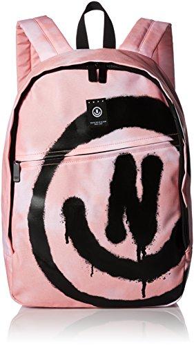 Neff Unisex Neff Daily School Backpack, pink tie dye, One Size