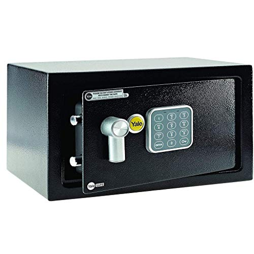 Gabinete cajas fuertes, llave de la caja,Yale YLB 170 Laptop / EB 1 prima de seguro seguro Aprobado, 22 mm motorizado, pantalla LCD, 8 litros de capacidad caja de llaves / pernos de bloqueo a prueb